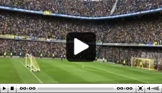 Indrukwekkend: La Bombonera puilt uit bij training Boca Juniors