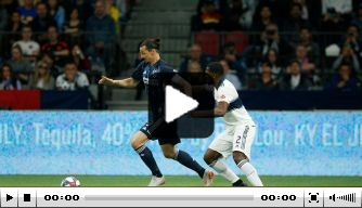 Video: Ibrahimovic blijft maar scoren voor Los Angeles Galaxy