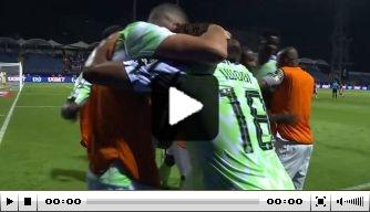 Video: Nigeria breekt ban op Afrika Cup met weergaloze assist