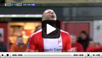 Video: Jansen emotioneel na beslissende treffer tegen Twente