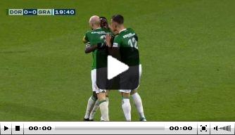 Video: FC Dordrecht-huurling Polley maakt wereldgoal
