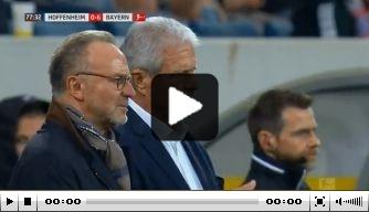 Zo speelden Hoffenheim en Bayern laatste minuten vol
