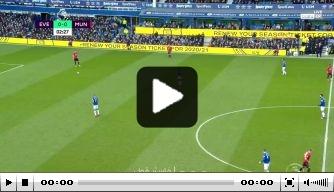 Video: De Gea helpt Everton aan doelpunt dankzij enorme blunder