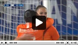 Video: Martens scoort prachtige goal tegen Frankrijk
