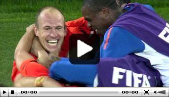 Video: exact tien jaar geleden: Oranje verslaat Brazilië op het WK