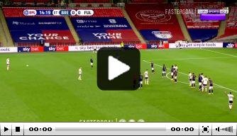 Video: slimme vrije trap helpt Fulham in het zadel tegen Brentford