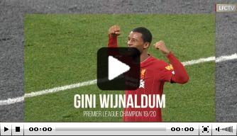 Video: Liverpool komt met fraaie seizoensvideo van Wijnaldum