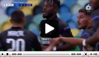 Video: Maxwel Cornet straft foutje Ederson knap af