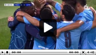 Video: De Bruyne rondt zeer fraaie aanval City af