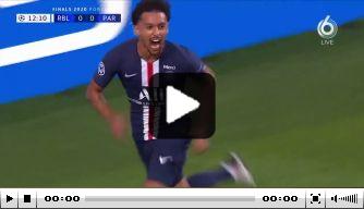 Video: Marquinhos kopt PSG op voorsprong tegen RB Leipzig
