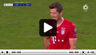 Video: PSG en Bayern krijgen grote kansen, maar scoren nog niet