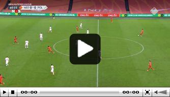Video: Bergwijn opent de score na prachtige pass De Jong