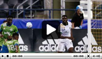 Video: Leerdam schiet afvallende bal fraai binnen