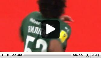Video: Vilhena draagt met fraaie goal bij aan 7-2-zege Krasnodar