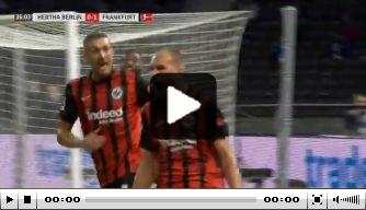 Video: Dost vergroot voorsprong van Eintracht Frankfurt