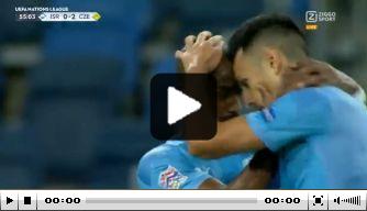 Video: PSV-spits Zahavi maakt fraaie goal tegen Tsjechië