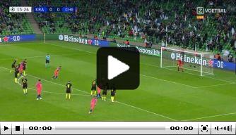 Video: strafschopspecialist Jorginho faalt opnieuw vanaf elf meter