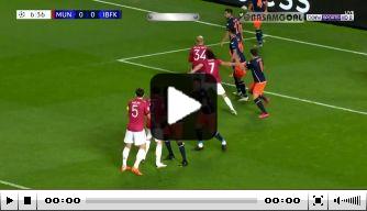 Video: heerlijke poeier Fernandes helpt United aan de leiding