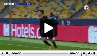 Dest maakt in Oekraïne eerste doelpunt voor FC Barcelona