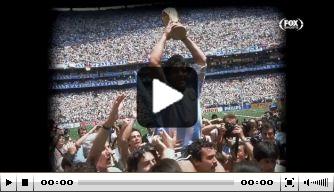 Video: fraai eerbetoon in mooie video aan Maradona