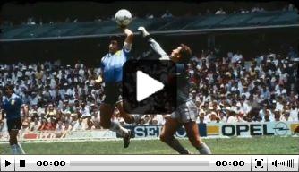 Video: opnieuw fraaie bewegende beelden van Maradona