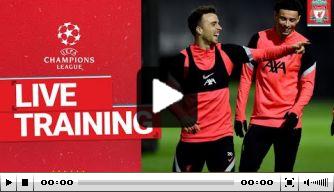 Video: gehavend Liverpool werkt laatste training af
