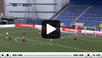 Video: Bruijn schiet fraaie vrije trap binnen tegen FC Den Bosch