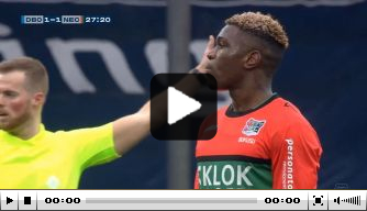 Video: Bukusu maakt zéér knullig eigen doelpunt namens NEC