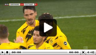 Video: Dortmund-talent Reyna toont techniek met fraaie goal
