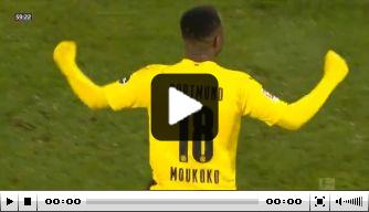 Video: Moukoko jongste doelpuntenmaker ooit in Bundesliga