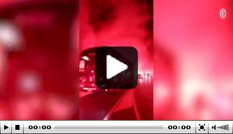 Video: warm welkom voor spelersbus winterkampioen Milan