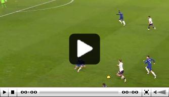 Video: El Ghazi maakt tegen Chelsea vijfde goal in vijf wedstrijden