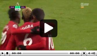 Video: Rashord knalt United in extremis naar plek twee