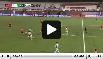 Video: Jansen opent score binnen een minuut met wereldgoal