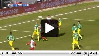 Video: fraaie goals van Haller in dienst van FC Utrecht