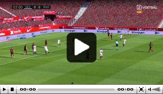 Bliksemstart in Sevilla: drie doelpunten in zeven minuten