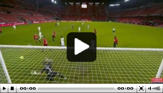 Video: Memphis belangrijk met goal en assist bij Lyon