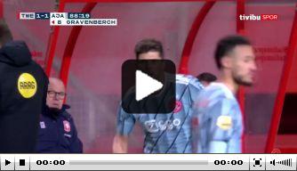 Video: Huntelaar helpt Ajax aan overwinning tegen FC Twente