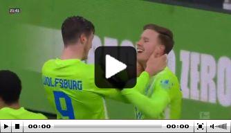 Video: Weghorst scoort wéér, ditmaal heel knappe kopbal