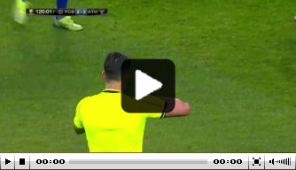Video: Messi slaat tegenstander neer en krijgt rood in finale