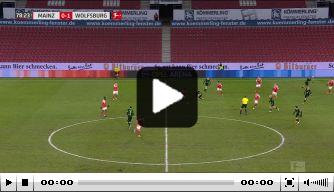 Video: recordgoal Weghorst bijzonder fraai tegen 1. FSV Mainz