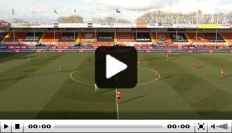 Video: De Graafschap scoort razendsnel tegen Volendam