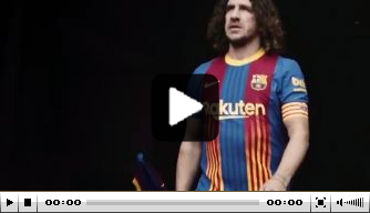 Video: FC Barcelona presenteert speciaal Clásico-shirt
