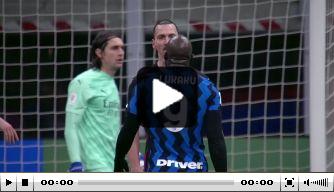 Flinke ruzie tussen Ibrahimovic en Lukaku in Milanese derby