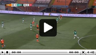 Video: Excelsior-middenvelder scoort na solo van 75 meter