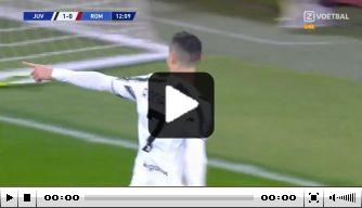 Ronaldo maakt in Italiaanse topper eerste doelpunt als 36-jarige
