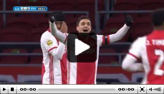 Video: Haller zet Ajax op het goede spoor tegen PSV