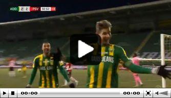 Kijk terug: de fraaie omhaal waarmee Kramer PSV pijn doet