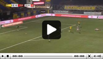 Video: Mühren besluit wedstrijd tegen TOP Oss met heerlijke lob