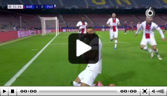 Nagenieten: nogmaals de hattrick van Mbappé in Camp Nou